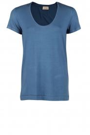 By Malene Birger | T-shirt Fevia | blauw  | Afbeelding 1