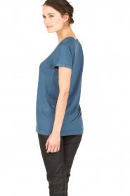 By Malene Birger | T-shirt Fevia | blauw  | Afbeelding 5