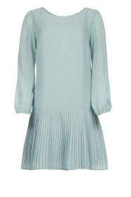 Patrizia Pepe |  Dress with pleat details Rora | blue  | Picture 1