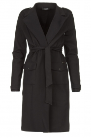 D-ETOILES CASIOPE |  Travelwear coat Vivienne | black  | Picture 1