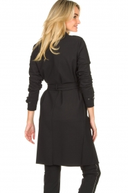 D-ETOILES CASIOPE |  Travelwear coat Vivienne | black  | Picture 8