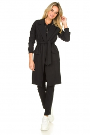 D-ETOILES CASIOPE |  Travelwear coat Vivienne | black  | Picture 3