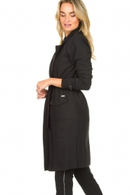 D-ETOILES CASIOPE |  Travelwear coat Vivienne | black  | Picture 7