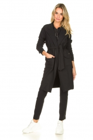 D-ETOILES CASIOPE |  Travelwear coat Vivienne | black  | Picture 5