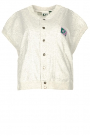 Dolly Sports |  Sleeveless jacket Venus | grey  | Picture 1