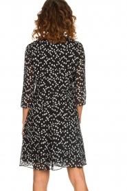 Patrizia Pepe |  Dress with dots print Lore | black  | Picture 6