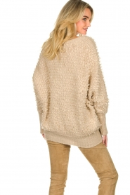 Be Pure |  Soft loop knit sweater Anne | beige  | Picture 6