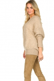 Be Pure |  Soft loop knit sweater Anne | beige  | Picture 5