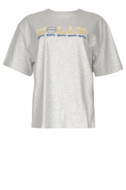 Dolly Sports |  T-shirt with logo imprint Heather | grey  | Picture 1