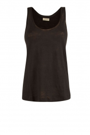 By Malene Birger | Linnen top Fanas | zwart