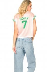 Dolly Sports | Mesh T-shirt Martina | roze  | Afbeelding 7