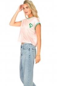 Dolly Sports | Mesh T-shirt Martina | roze  | Afbeelding 6