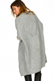 Be Pure |  Knitted kimono cardigan Kim | grey  | Picture 6