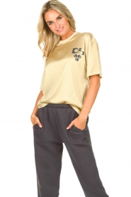 Dolly Sports    Mesh T-shirt Team Dolly   beige     Picture 8