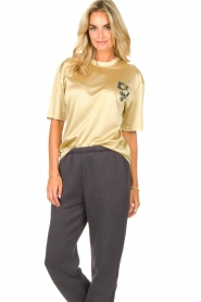 Dolly Sports    Mesh T-shirt Team Dolly   beige     Picture 4