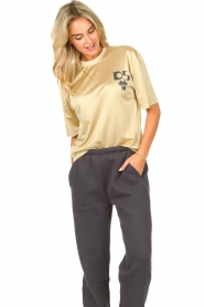 Dolly Sports    Mesh T-shirt Team Dolly   beige     Picture 2