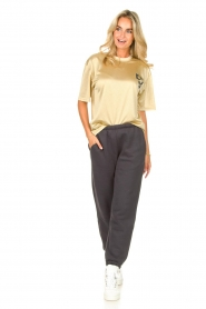 Dolly Sports    Mesh T-shirt Team Dolly   beige     Picture 3