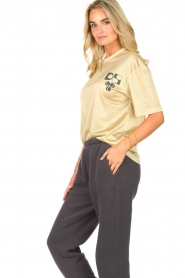 Dolly Sports    Mesh T-shirt Team Dolly   beige     Picture 6