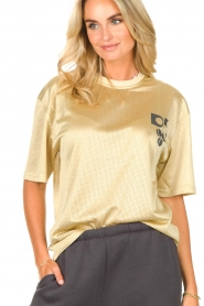 Dolly Sports    Mesh T-shirt Team Dolly   beige     Picture 5