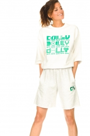 Dolly Sports |  Basic sweater Team Dolly | white  | Picture 4