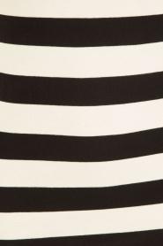 By Malene Birger | Gestreepte top Bopillia | zwart-wit  | Afbeelding 6
