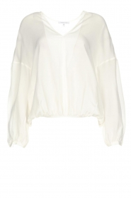 Patrizia Pepe |  Silk top Irina | white  | Picture 1