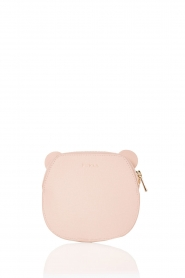 Leather coin case Allegra | pink