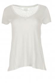 BLAUMAX | 100% linnen T-shirt Faro | beige  | Afbeelding 1