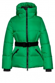 Goldbergh |  Down coat with hood Snowmass | green  | Picture 1