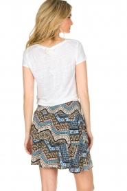 BLAUMAX | 100% linnen T-shirt Faro | wit  | Afbeelding 4