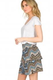 BLAUMAX | 100% linnen T-shirt Faro | wit  | Afbeelding 3