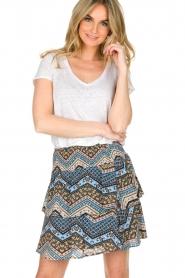 BLAUMAX | 100% linnen T-shirt Faro | wit  | Afbeelding 2