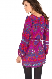 Alice & Trixie |  Silk tunic dress Whitney | purple  | Picture 5