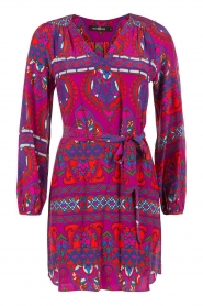 Alice & Trixie |  Silk tunic dress Whitney | purple  | Picture 1