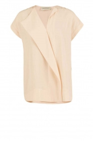 By Malene Birger | Asymmetrische top Tobson | naturel  | Afbeelding 1