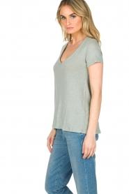 Blaumax    100% linen T-shirt Faro   blue    Picture 4