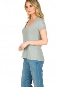 Blaumax    100% linen T-shirt Faro   blue    Picture 5