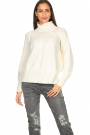 Be Pure |  Rib sweater Chris | white  | Picture 2
