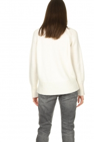Be Pure |  Rib sweater Chris | white  | Picture 6