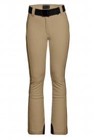 Goldbergh |  Slim fit ski pants Pippa | beige  | Picture 1