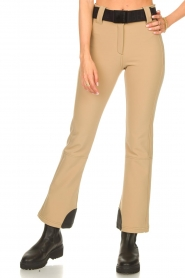 Goldbergh |  Slim fit ski pants Pippa | beige  | Picture 5