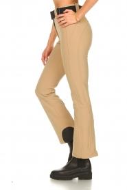 Goldbergh |  Slim fit ski pants Pippa | beige  | Picture 6