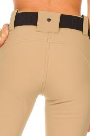 Goldbergh |  Slim fit ski pants Pippa | beige  | Picture 8
