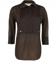 By Malene Birger | Top Dralua | zwart