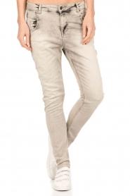 Aaiko | Skinny jeans Mion lengtemaat 30 | grijs  | Afbeelding 2