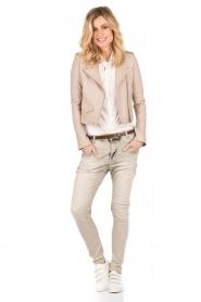 Aaiko | Skinny jeans Mion lengtemaat 30 | grijs  | Afbeelding 3