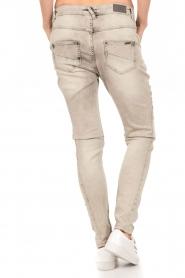Aaiko | Skinny jeans Mion lengtemaat 30 | grijs  | Afbeelding 5