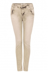 Aaiko | Skinny jeans Mion lengtemaat 30 | grijs  | Afbeelding 1