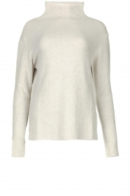 Be Pure |  Soft turtleneck sweater Alice | grey  | Picture 1