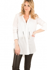 By Malene Birger | Blouse Tagoda | wit  | Afbeelding 2
